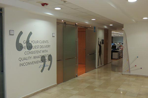 Nielsen's office in Mexico