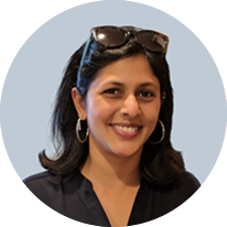 Yamini is the Director of our Global Responsibility and Sustainability team, based in San Francisco, California. In 2013, Yamini created our Nielsen Green program, which aims to manage and reduce Nielsen's impact on the environment by driving sustainable operational efficiencies.